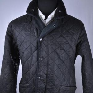"Barbour ""Polar Quilt"" Black Quilted jacket"